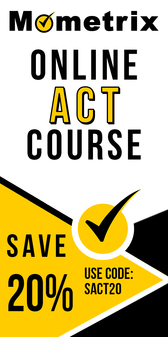 Click here for 20% off of Mometrix ACT online course. Use code: SACT20