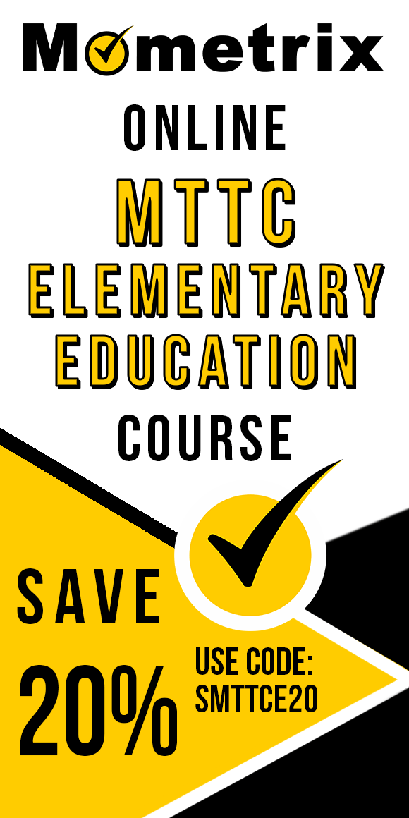 Click here for 20% off of Mometrix MTTC Elementary Education online course. Use code: SMTTCE20